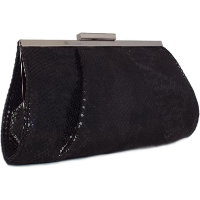 Peter Kaiser Lomasi Women's Evening Clutch Bag in Black Diano