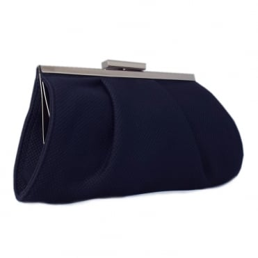 Peter Kaiser Lomasi Women's Evening Clutch Bag in Navy Textile