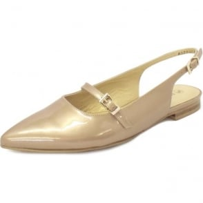 e1bf7ca86e4 Lucanda Ladies Slingback Shoes in Sand Patent. Peter Kaiser ...