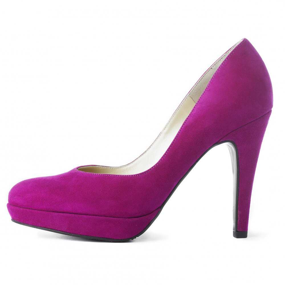 kaiser lukrezia womens pink suede high heel shoes