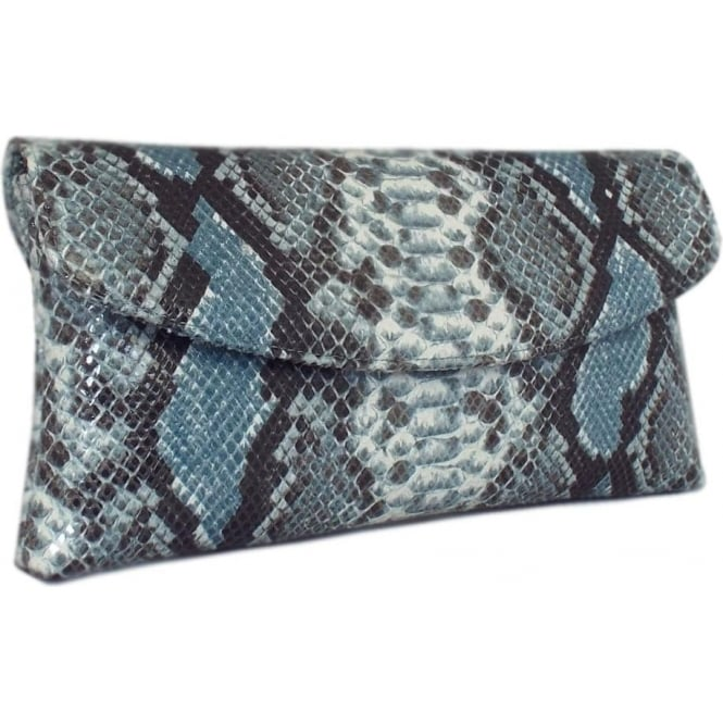 Peter Kaiser Mabel Evening Clutch Bag in Azur Diano