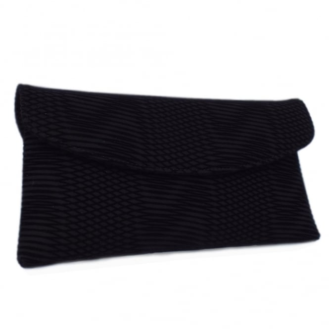 Peter Kaiser Mabel Evening Clutch Bag in Black Nico