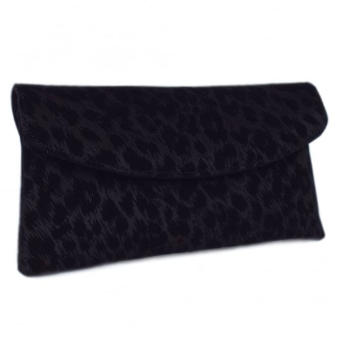 Peter Kaiser Mabel Evening Clutch Bag in Black Tulia