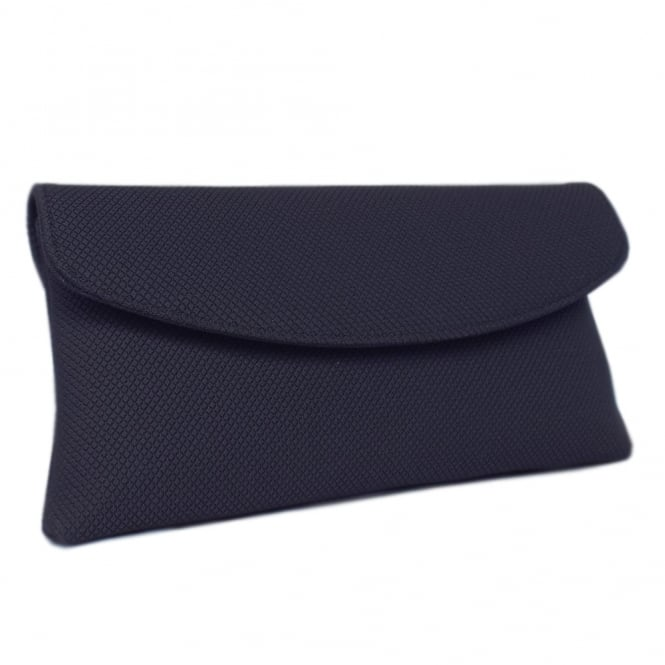 Peter Kaiser Mabel Evening Clutch Bag in Navy Rombo