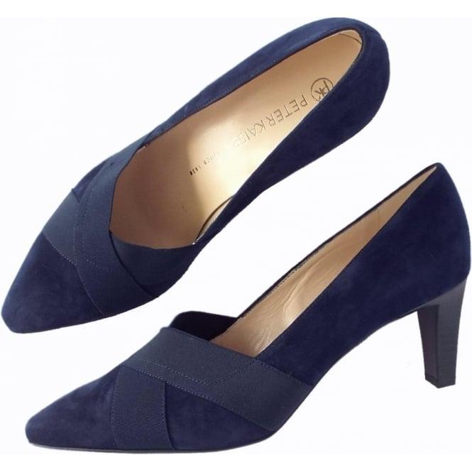 Peter Kaiser Navy Court Shoes