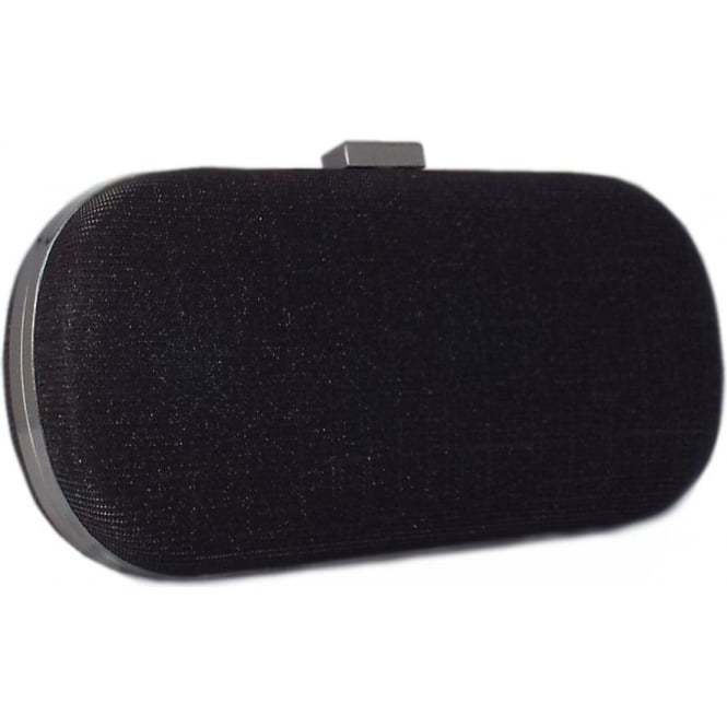 Peter Kaiser Malena Evening Bag in Black Shimmer