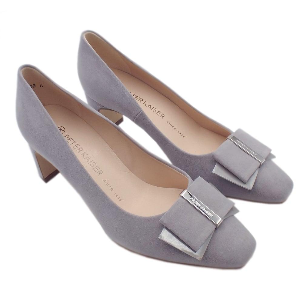 cc2daf36d Pavilia Mid Heel Court Shoes in Topas Suede