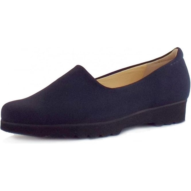 Peter Kaiser Ronda Ladies Comfortable Stretch Shoe in Navy