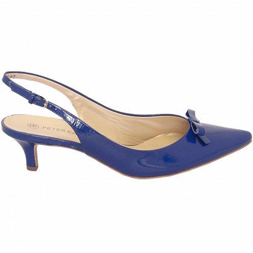Peter Kaiser Rosette   Ladies Slingback Kitten Heels Shoes