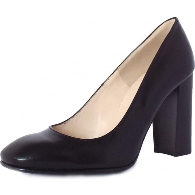 Peter Kaiser Sandy Ladies Block Heel Formal Shoes in Black