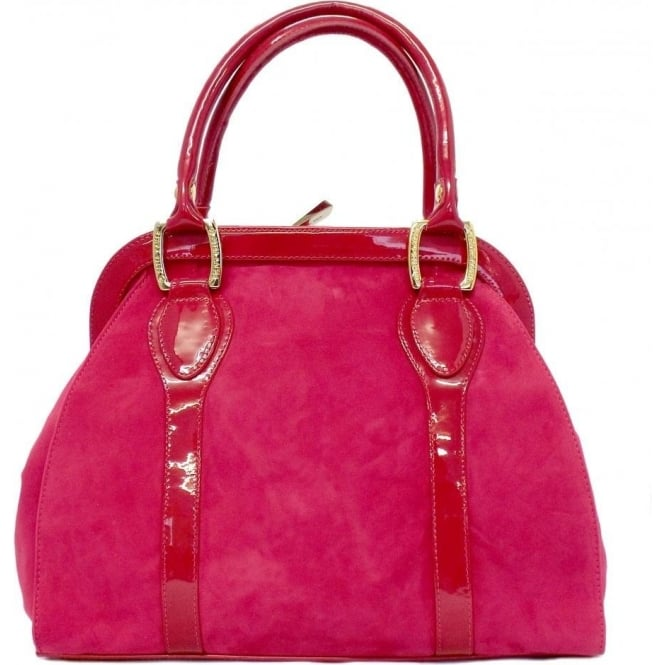 Peter Kaiser Sinema Ladies Handbag Bag in Pink Suede