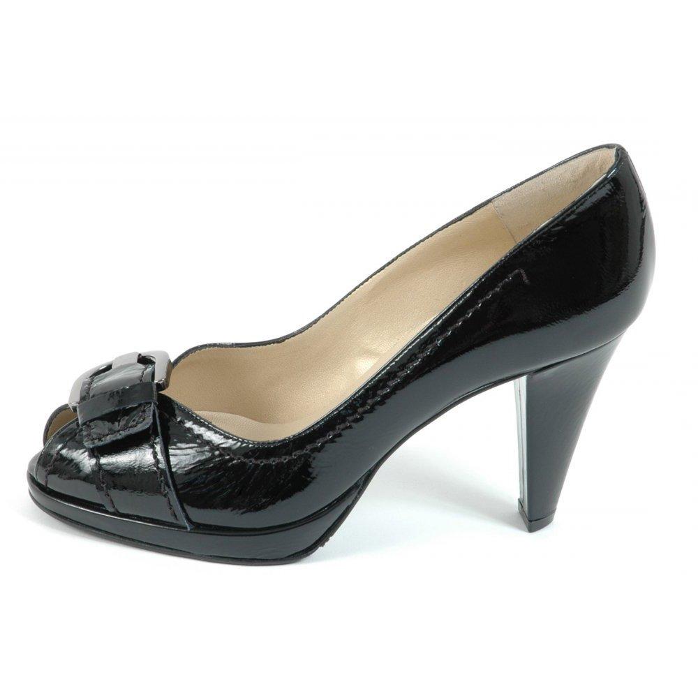 kaiser sonna womens peep toe high heel shoes in