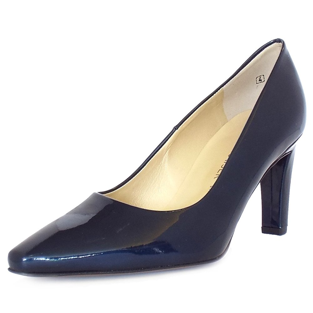 Dark Navy Court Shoes
