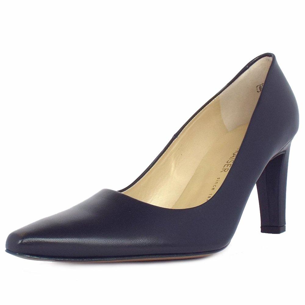 Ladies Navy Court Shoes Uk