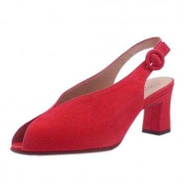 3265ea63c2d Veronique Dressy Mid Heel Slingback in Sharon Pink