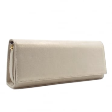 Winifred Evening Clutch Bag In Sand Star