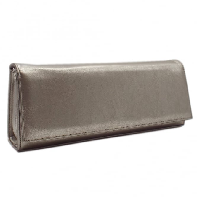 Peter Kaiser Winifred Evening Clutch Bag In Taupe Furla