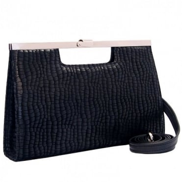 Wye 14 Clutch in Black Musti
