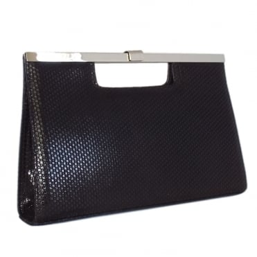 Wye Classic Evening Clutch Bag in Black Topic