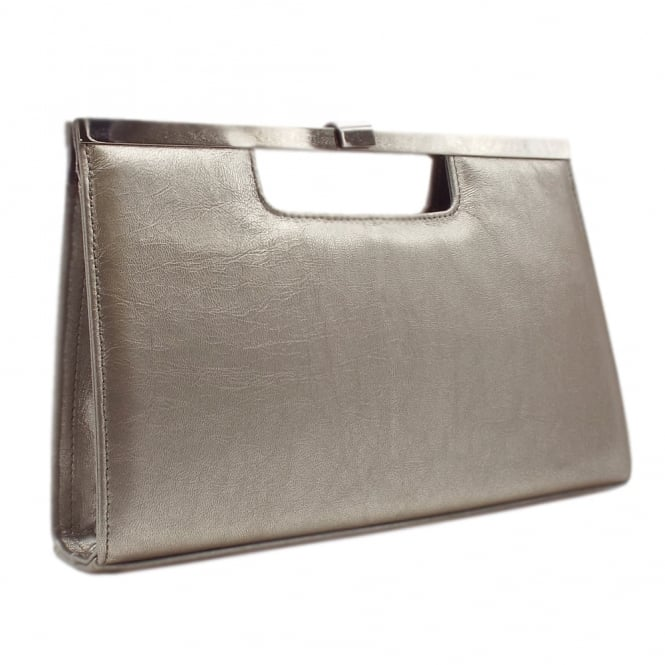 Peter Kaiser Wye Classic Evening Clutch Bag in Taupe Furla