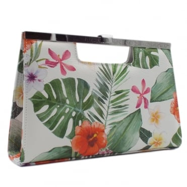 Wye Classic Occasion Clutch Bag in Multi Tropic