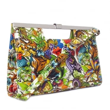 Peter Kaiser Wye Women's Evening Bag In Unique Print Patent