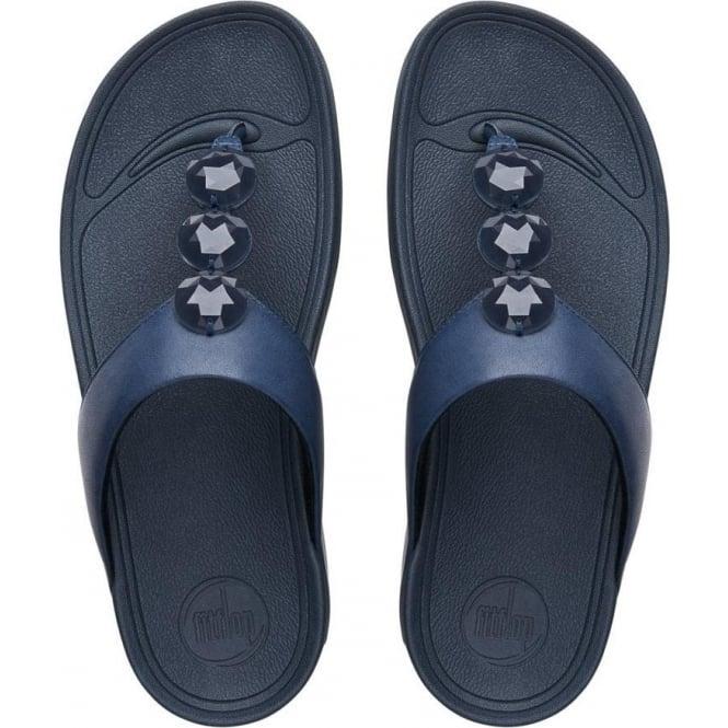 42d343768f3a5 Petra™ Toe Post Jewelled Sandals In Supernavy