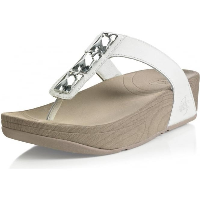 Antique White Womens FitFlops from Mozimo