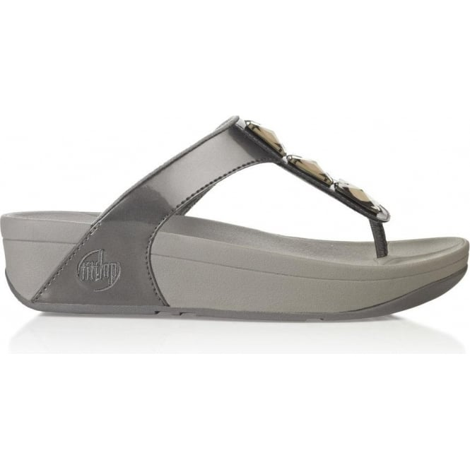 22f24afba FitFlops - Pietra Womens Fitflops in Pewter from Mozimo