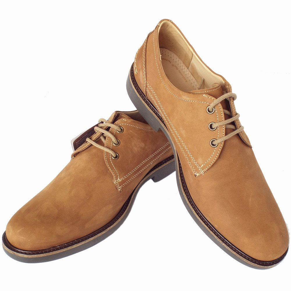 Womens Lace Up Nubuck Shoes