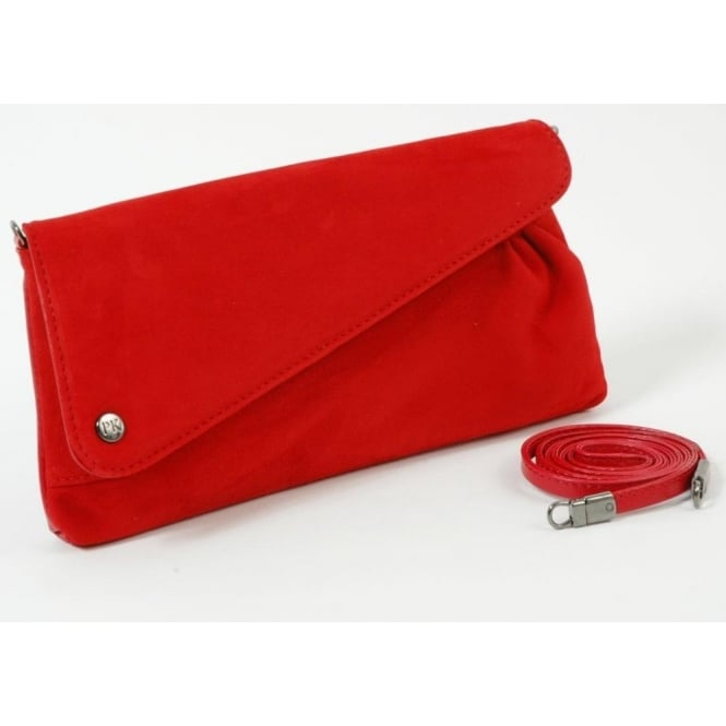 6f9e67de7fa0b Peter Kaiser Clutch Bag in suede and leather finish