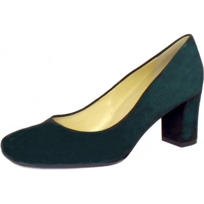 0e7b4f48dd Plata Ladies Round Toe Court Shoe in Bottle Green