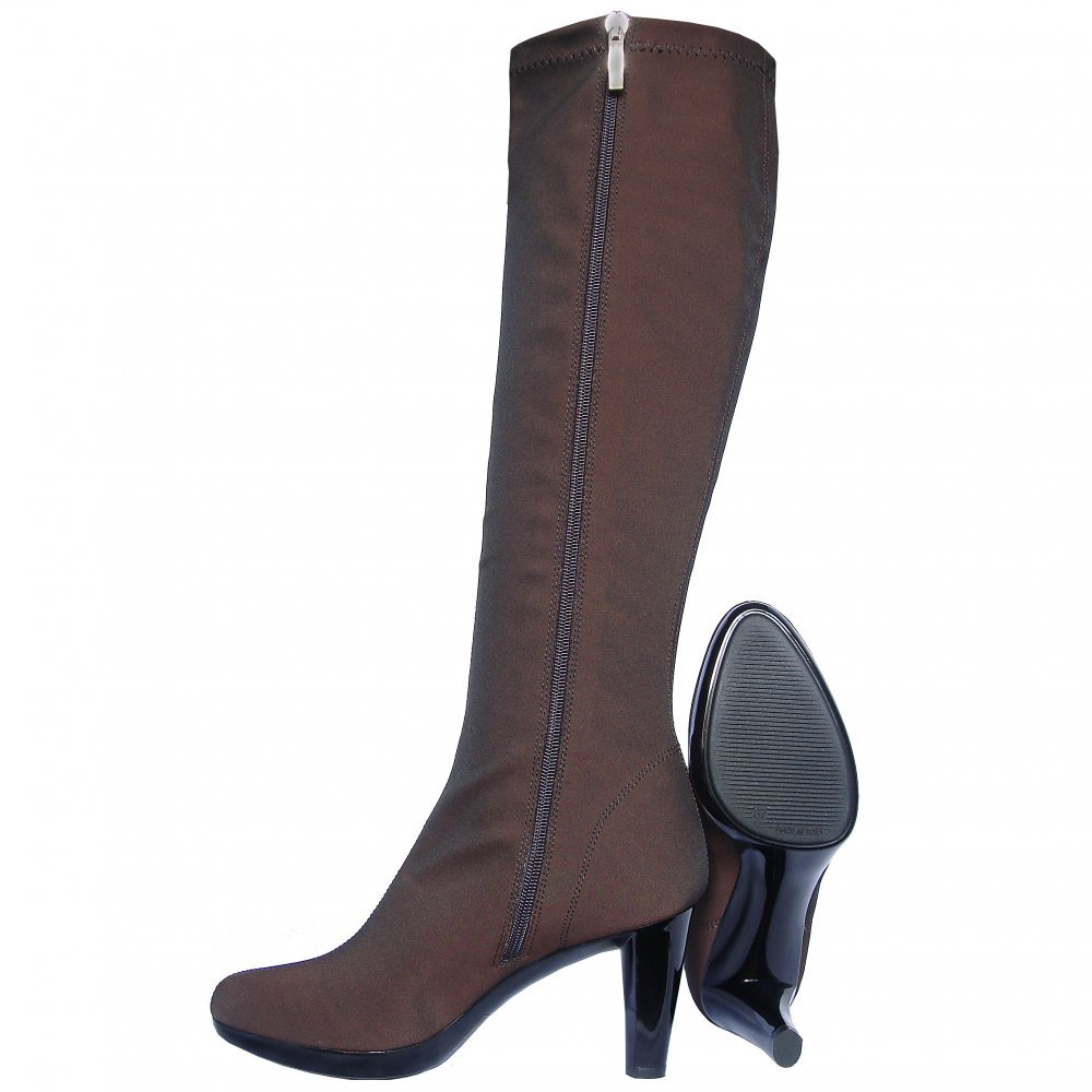 Nr Rapisardi 2255 Knee High High Heel Stretch Boots In