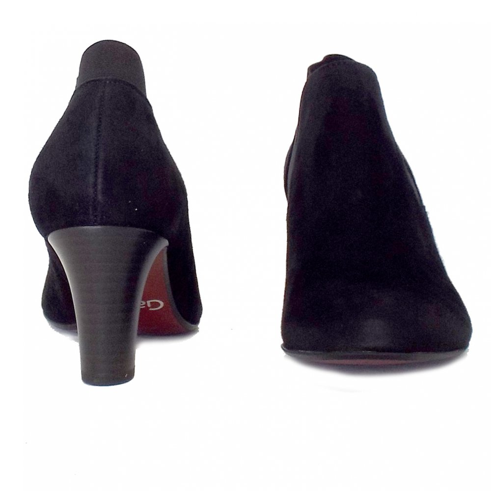 gabor pricilla modern mid heel ankle boots mozimo
