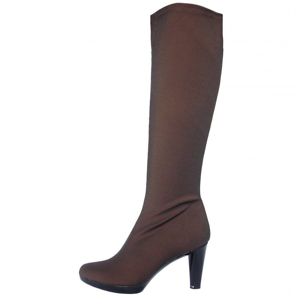 Nr Rapisardi 2255 Knee High High Heel Stretch Boots In