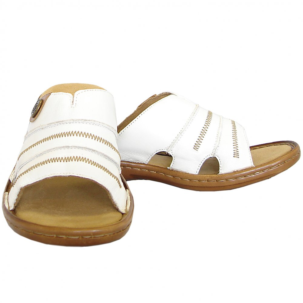 Rieker Regina Comfortable Padded Leather Sandals In