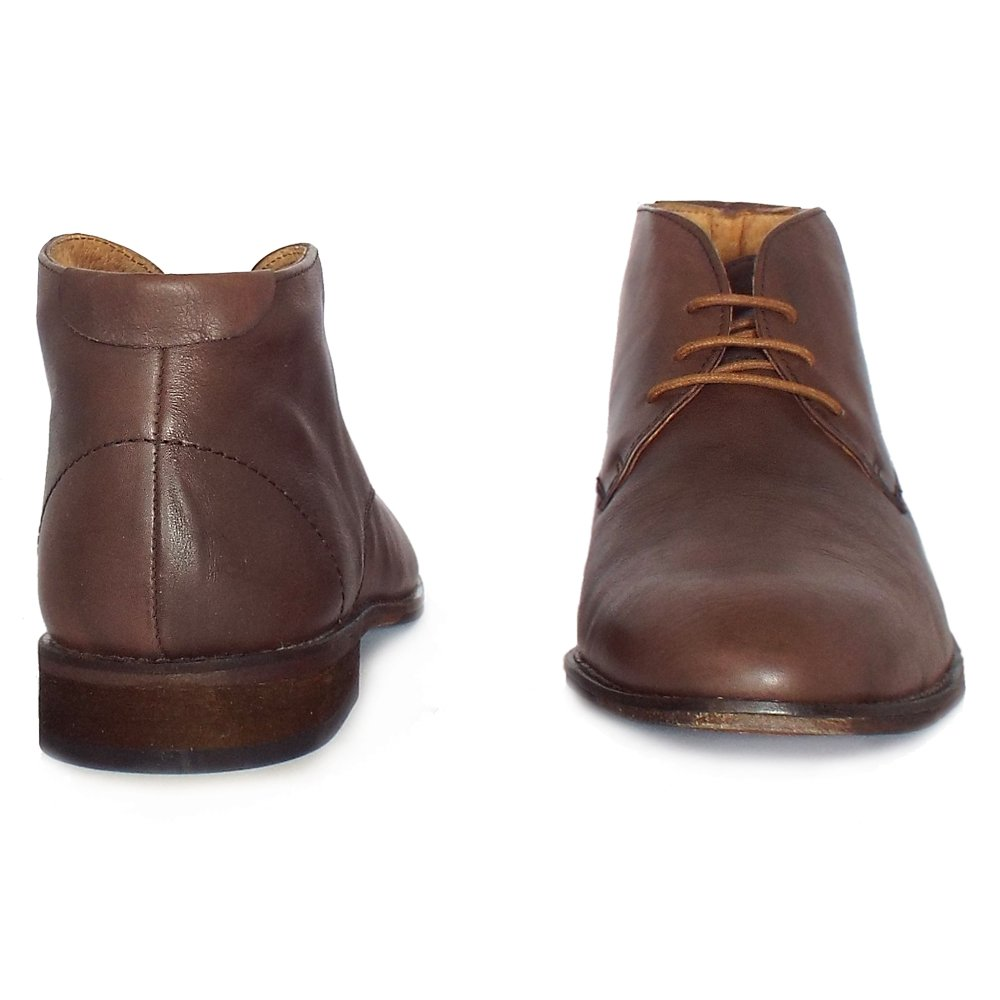 lotus richmond s smart casual chukka boots in brown