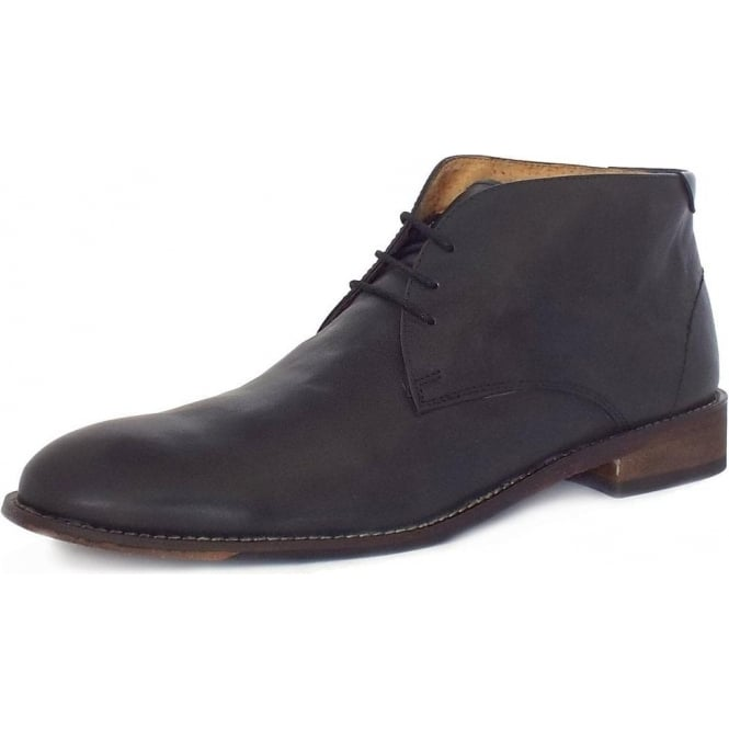 b3f52161e8176 Lotus Richmond Men's Chukka Boots in Black