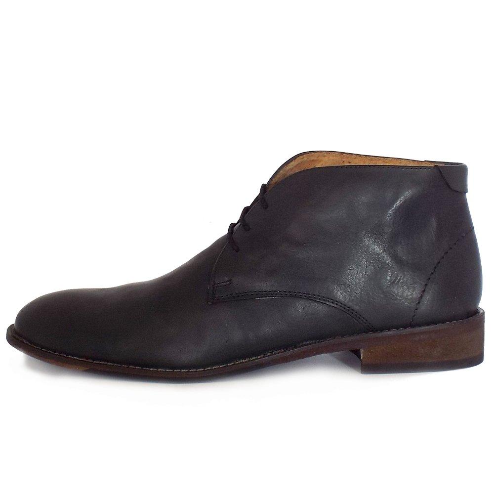 lotus richmond s casual black leather chukka boots