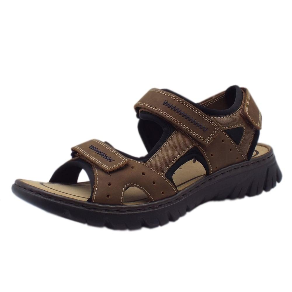 dd785afb15f9 26757-24 Basque Mens Sport Walking Sandals in Brown Multi