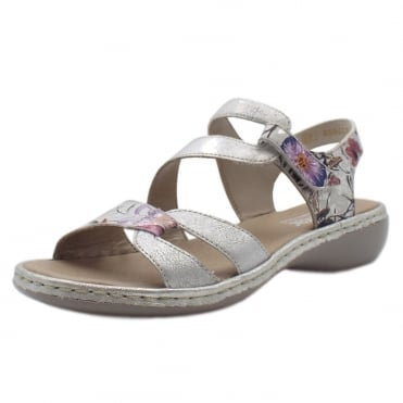 65969-82 Sussex Comfortable Fashion Sandals in Ice