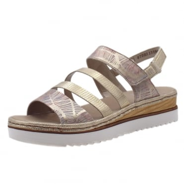 679L3-90 Illinois Modern Fashion Sandals in Rose Gold