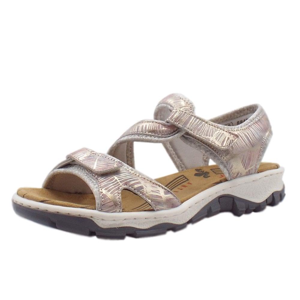 d21bbb0396 68869-90 Clara Women  039 s Trekking Sandals in Multi Metallic