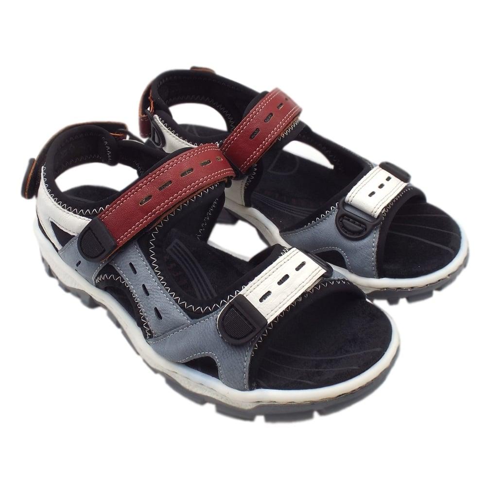 c4b28526d4d 68872-13 Sportstar Women  039 s Trekking Sandals in Multi Colour