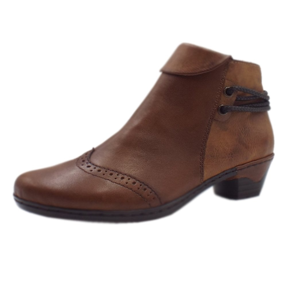 new varieties select for best cheap sale Rieker 76981-24 Harper Fashion Ankle Boots in Brown