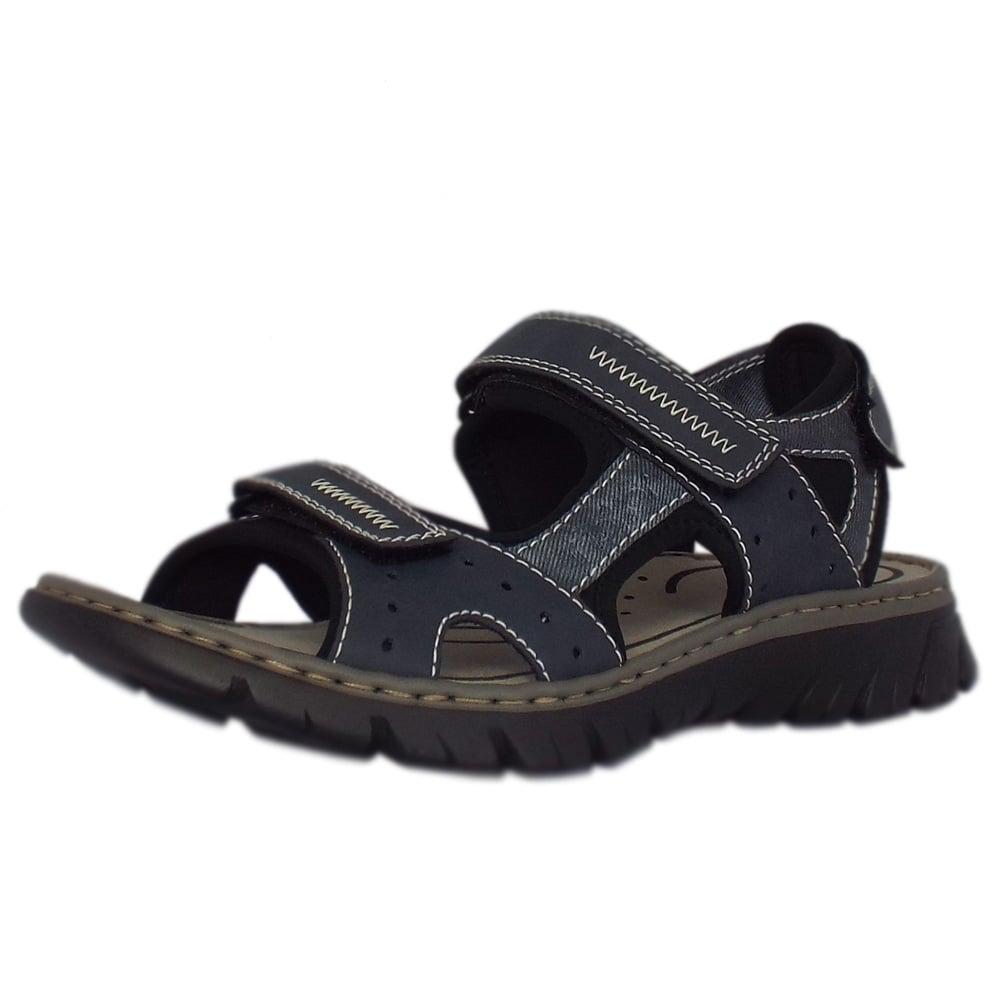 537a51c51317 Basque Mens Sport Walking Sandals in Blue