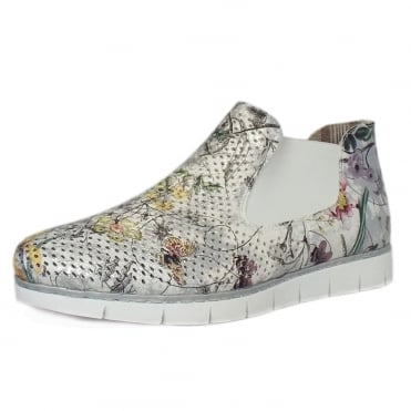 Bouquet Casual Slip on High Top in Ice