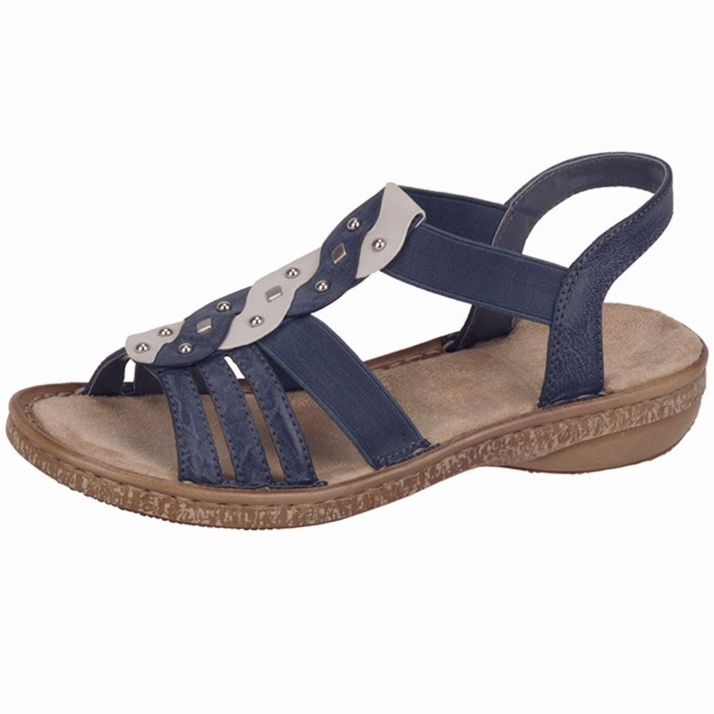 Perfect UNZE WOMENS NUTY COMFORTABLE WALKING SANDALS UK SIZE 3-8 BEIGE