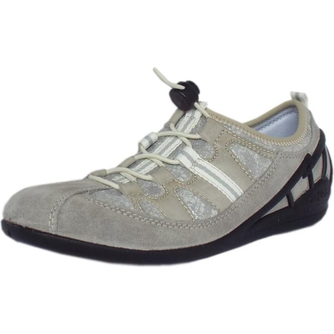 Smart casual slip on trainers grey | Mozimo