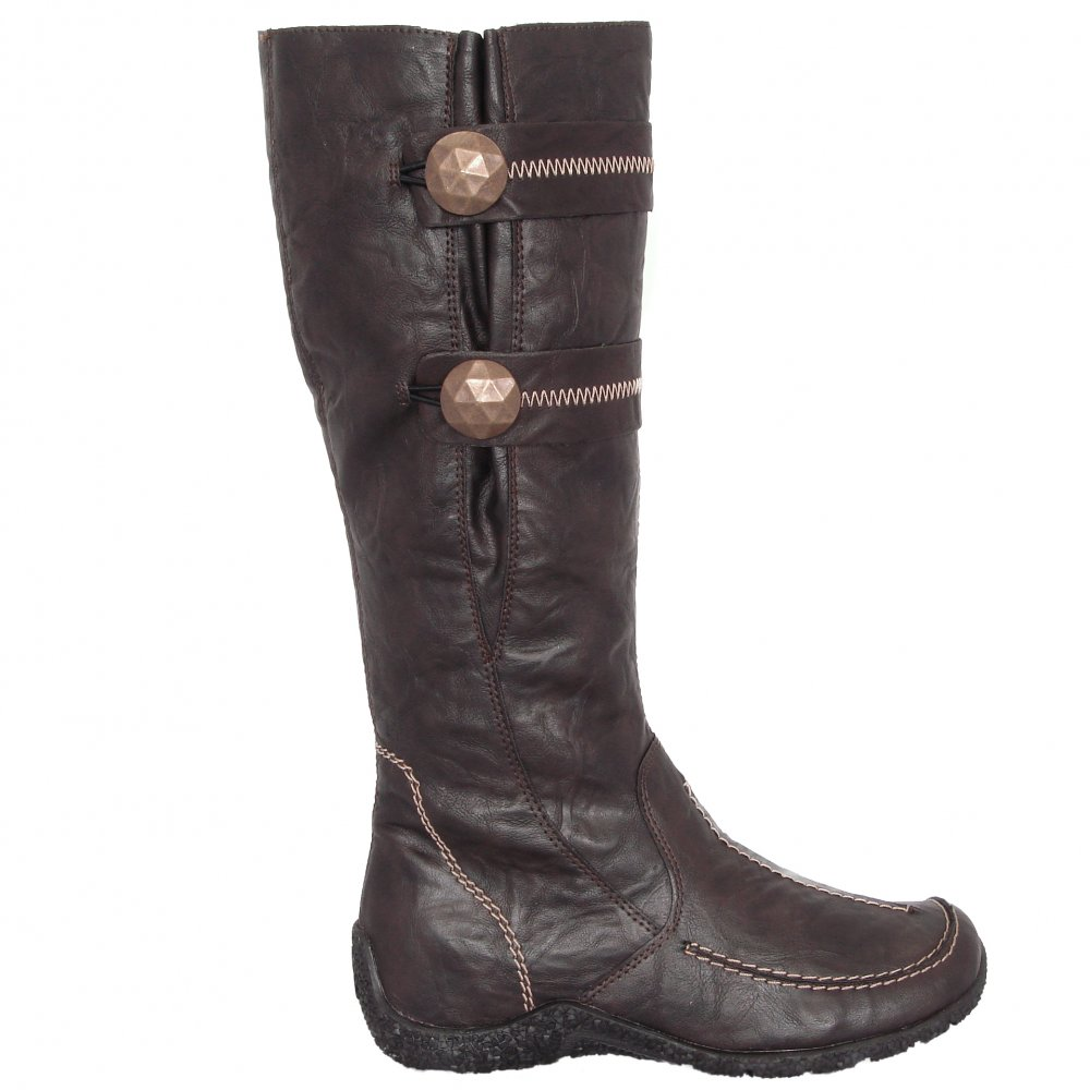 Rieker Astrid 79970 26 New Wool Lined Long Boots In